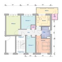 4-Raum-Wohnung, ca. 79 m²