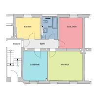 3-Raum-Wohnung, ca. 76 m²