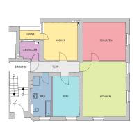 3-Raum-Wohnung, ca. 100 m²
