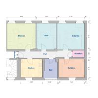 4-Raum-Wohnung, ca. 104 m²